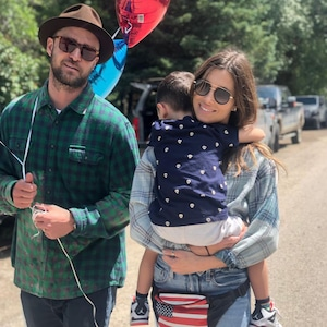 Jessica Biel, Justin Timberlake, Son, Silas, Fourth of July 2019