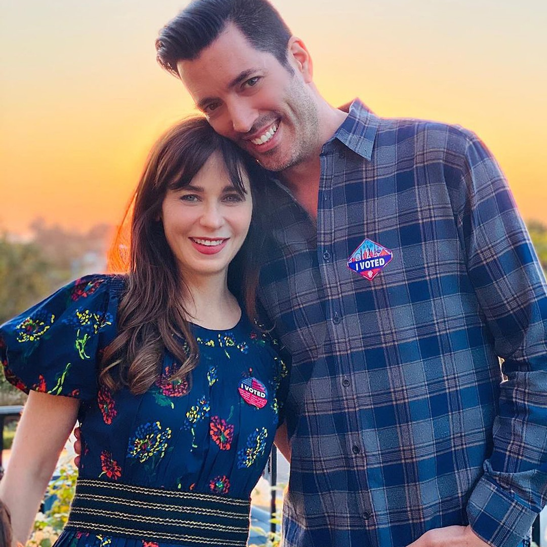 How Jonathan Scott Became Zooey Deschanel's MVP – E! NEWS