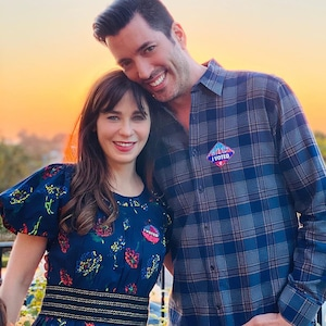 Zooey Deschanel, Jonathan Scott, Instagram