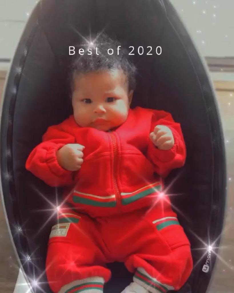 Nicki Minaj, Baby, Boy, Son, Instagram