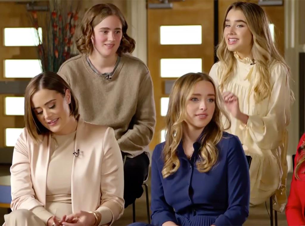 Naomi, Finnegan, Maisy, Natalie