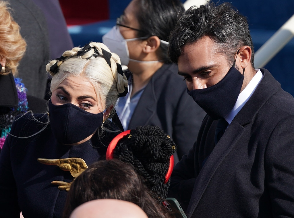 Lady Gaga, Michael Polansky , 2021 Presidential Inauguration