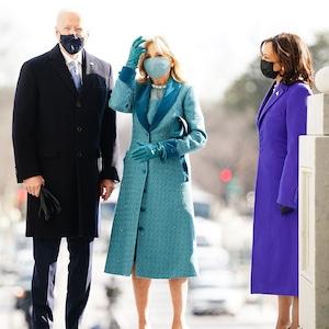 Joe Biden, Jill Biden, Kamala Harris, 2021 Presidential Inauguration
