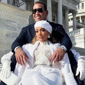 Jennifer Lopez, Alex Rodriguez, 2021 Presidential Inauguration, social pics