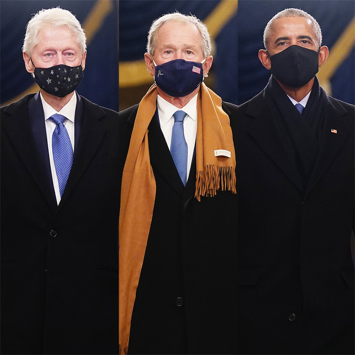 Former Presidents Barack Obama, George W. Bush and Bill Clinton Reunite for Rare Inauguration Day Address