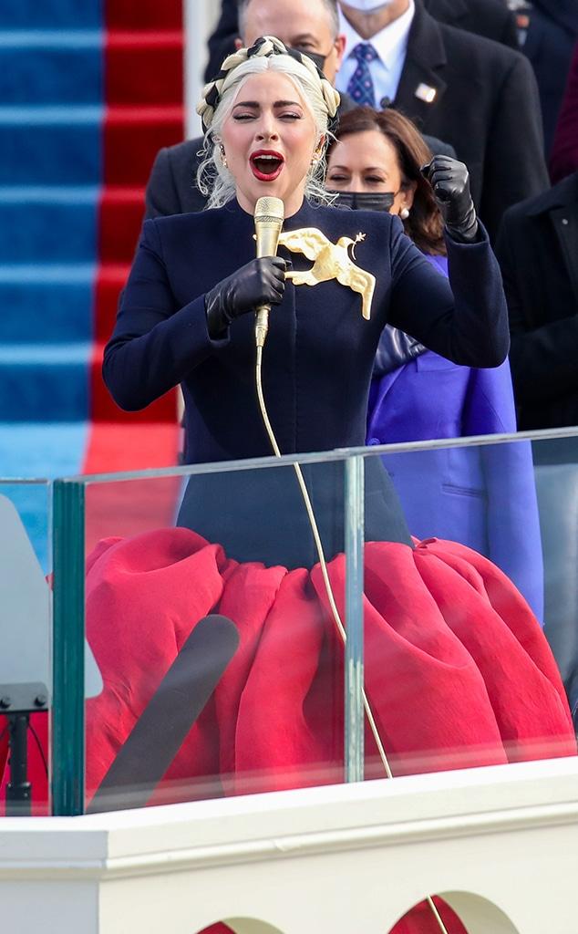 Lady Gaga, 2021 Presidential Inauguration