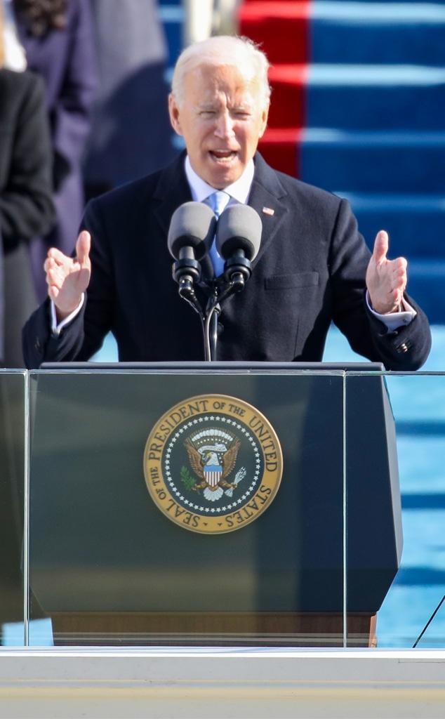 President Joe Biden, 2021 Presidential Inauguration