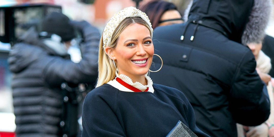 "Pregnant Hilary Duff Makes ""Another Crazy Change"" to Her Hair as Due Date Nears - E! Online.jpg"