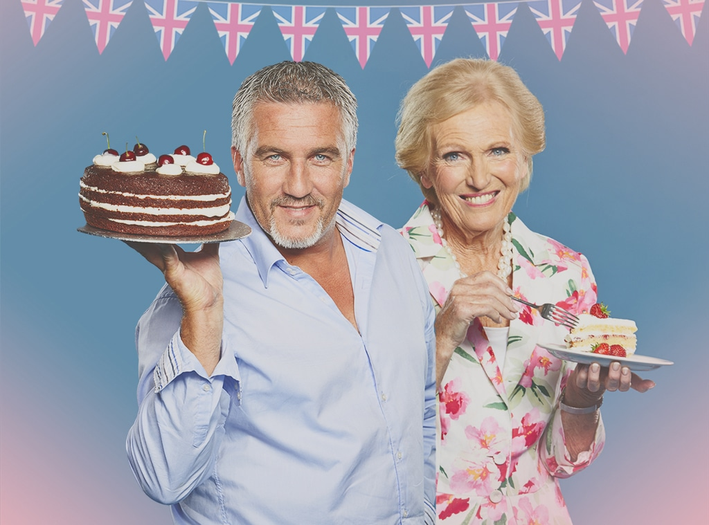 Great British Baking Show, Paul Hollywood, Mary Berry