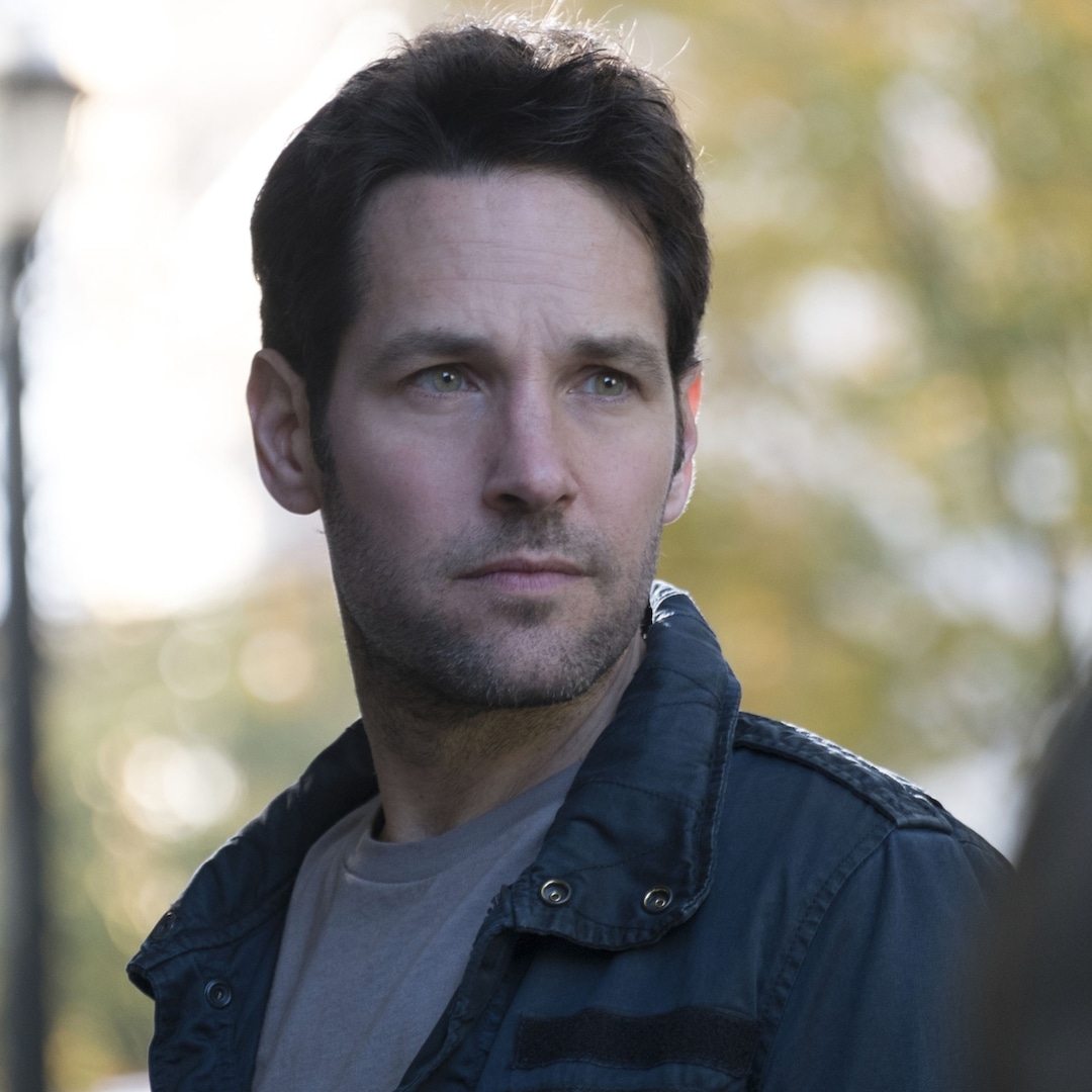 Paul Rudd Is Completely Unrecognizable in First Photos From The Shrink Next Door - E! NEWS