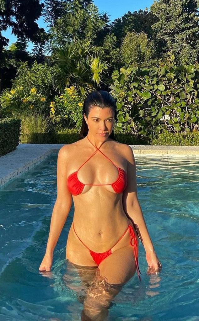 Kourtney Kardashian, Instagram