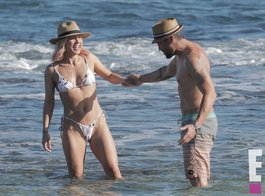 See Every Pic From Brian Austin Green and Sharna Burgess' Steamy Trip - E!  Online
