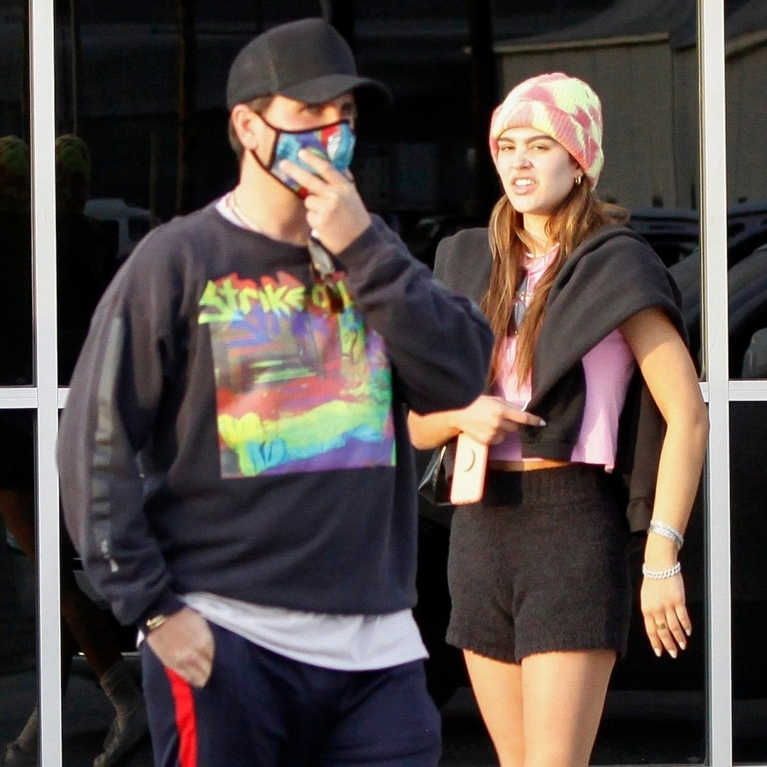 Scott Disick and Amelia Hamlin Return Home After New Year's Getaway to Mexico