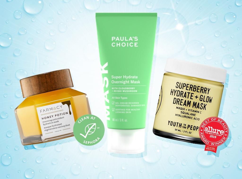 E-comm: Best Hydrating Face Masks