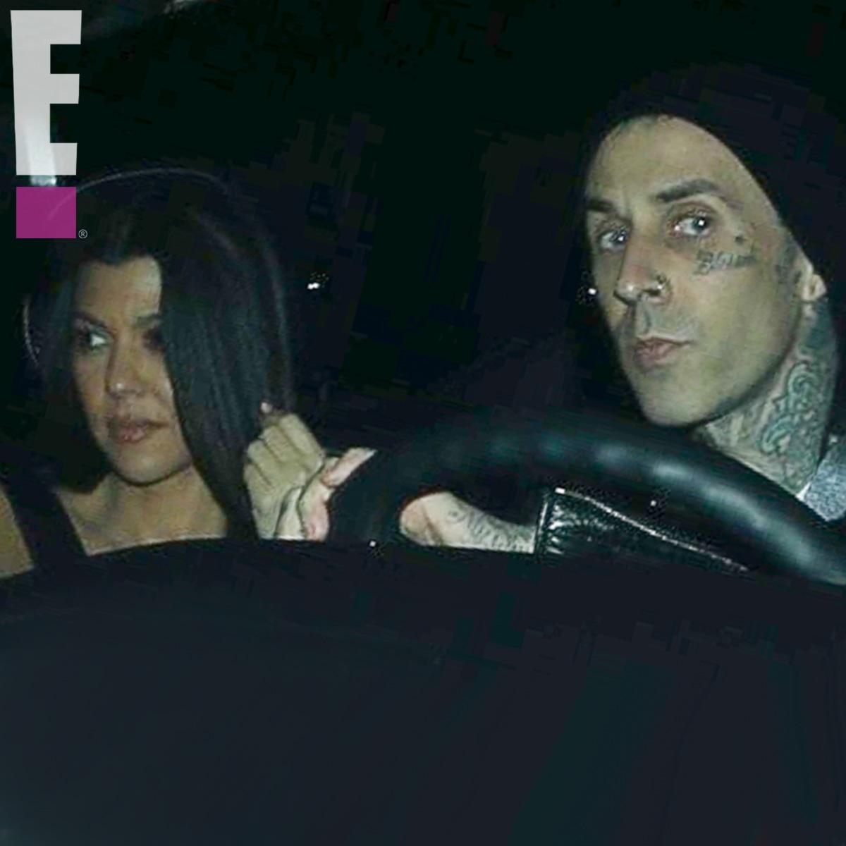 Kourtney Kardashian, Travis Barker, Exclusivo