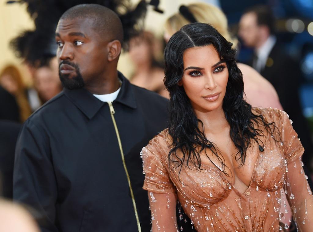 Kim Kardashian, and Kanye West