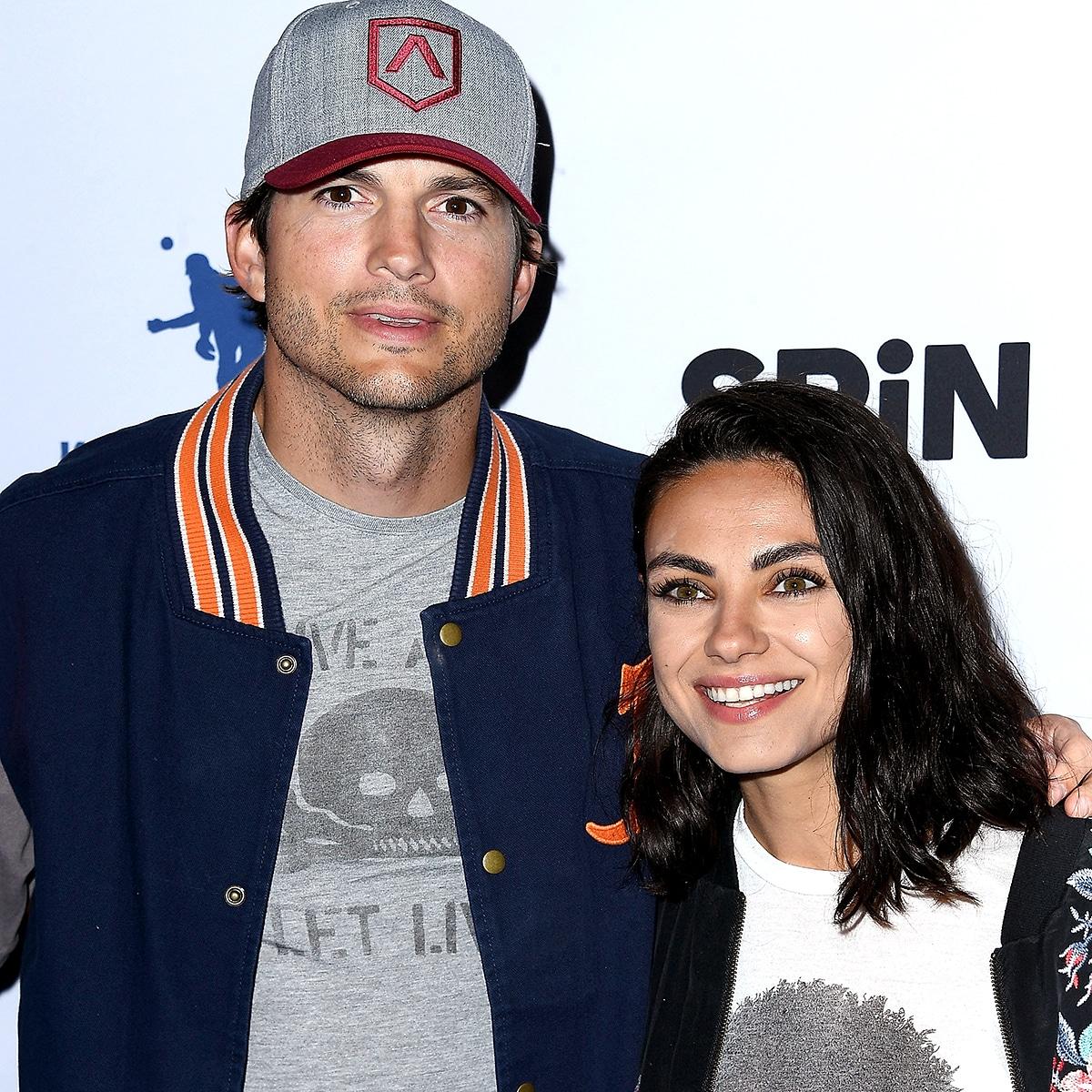 With kutcher is who ashton Mila Kunis