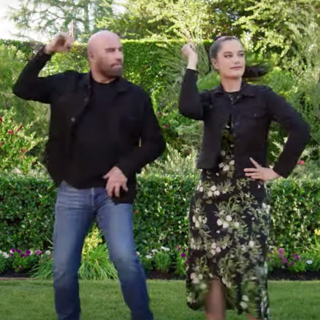 <p>John Travolta and Daughter Ella Recreate Iconic Grease Dance for 2021 Super Bowl Ad thumbnail