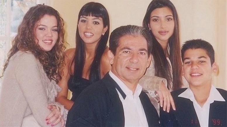 Kim Kardashian, Family Photos, Robert Kardashian