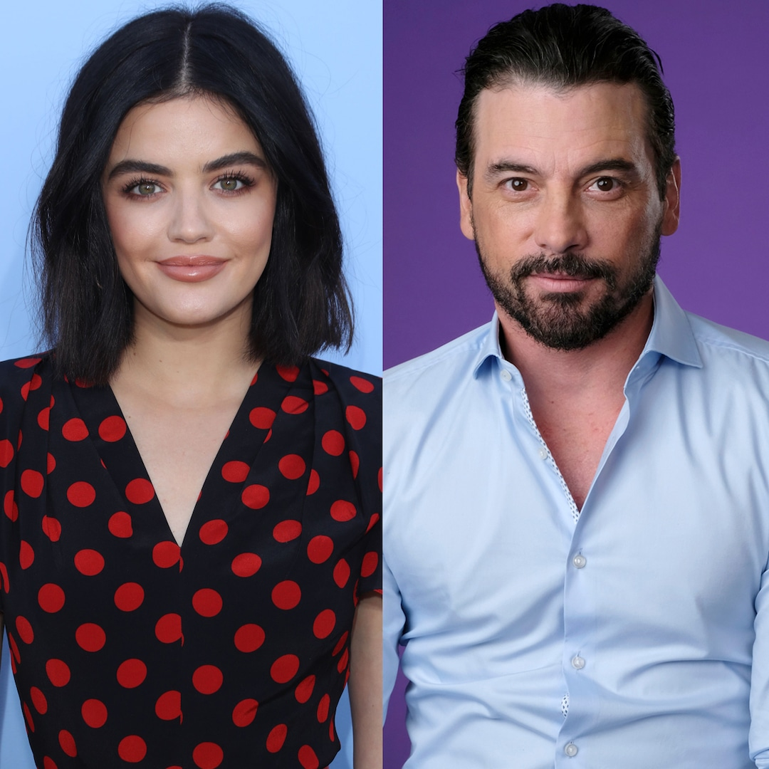 Lucy Hale Seen Kissing Riverdale's Skeet Ulrich on Lunch Outing - E! Online