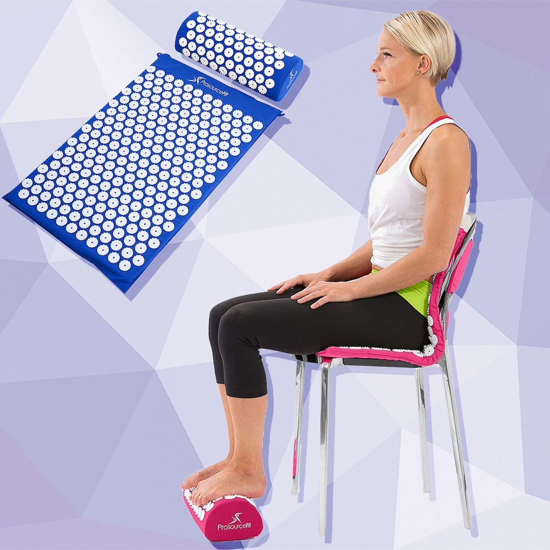 This Must-Have $22 Acupressure Mat Has 17,800+ 5-Star Amazon Reviews