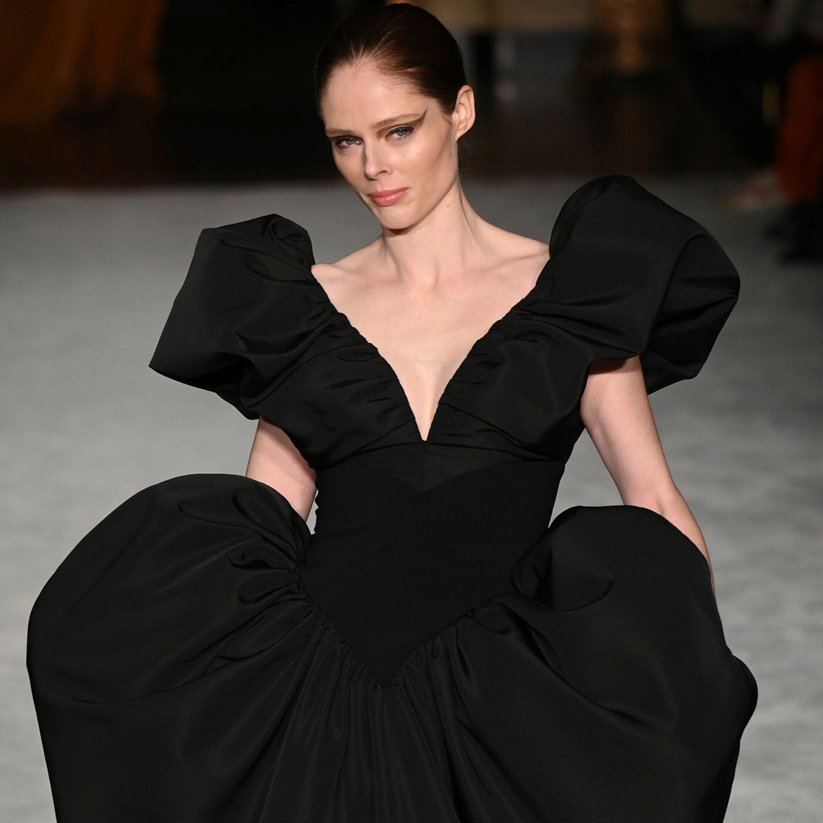 Coco Rocha Returns to the Fashion Week Runway 3 Months After Giving Birth