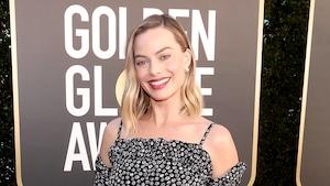 Margot Robbie, 2021 Golden Globe Awards, Arrivals