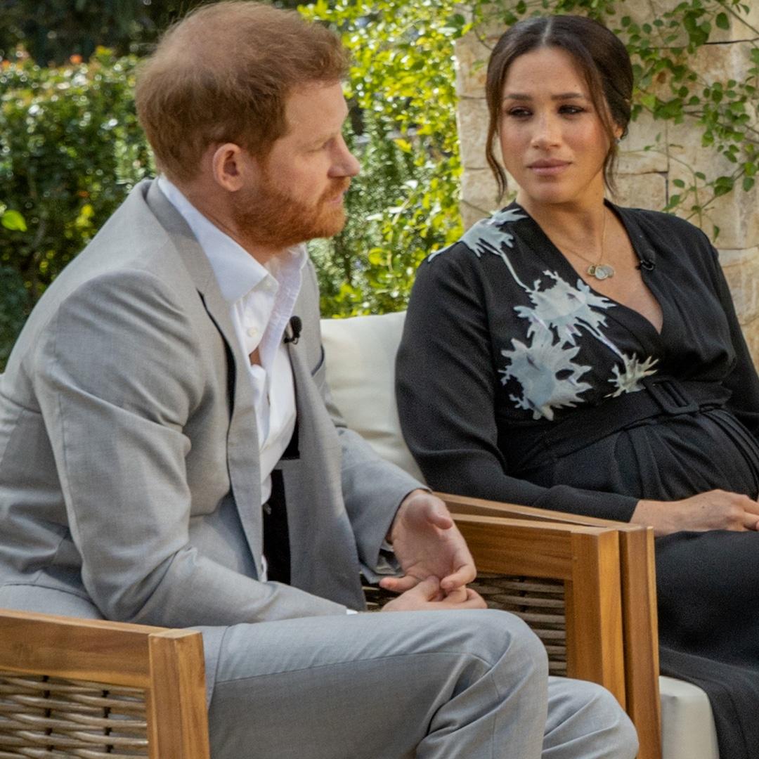 <p>View Explosive Sneak Peek of Meghan Markle along with Prince Harry's Oprah Winfrey Tell-All thumbnail