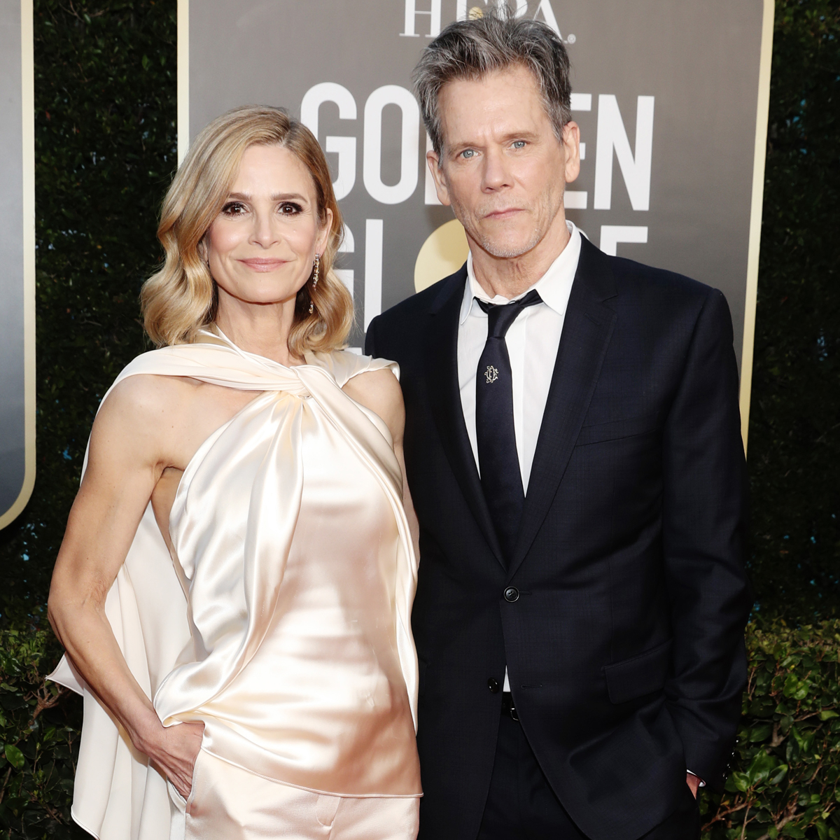 Kyra Sedgwick and Kevin Bacon Turn the 2021 Golden Globes Into Date Night