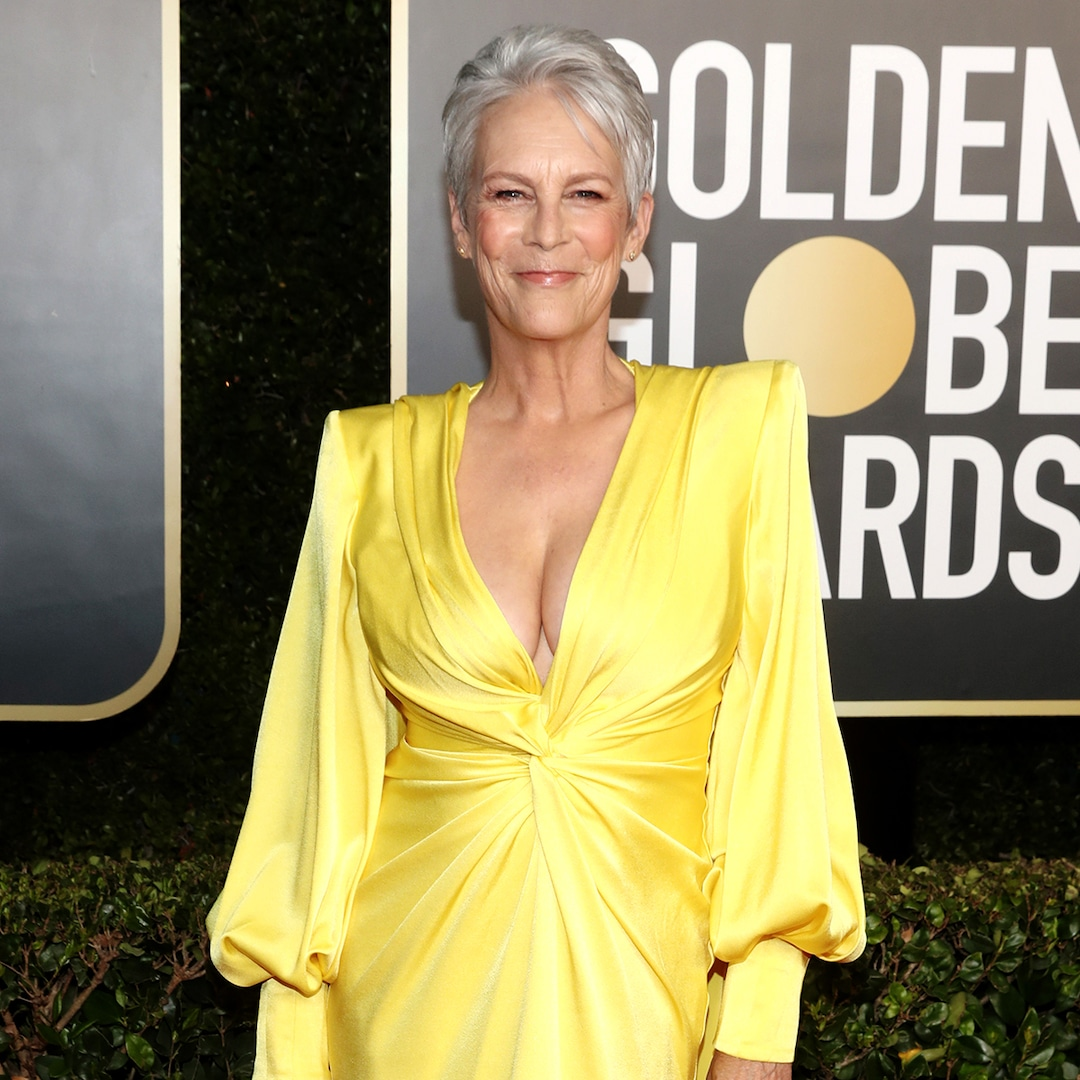 Jamie Lee Curtis Weighs In on Her Stunning Golden Globes Look That Twitter Can't Stop Talking About