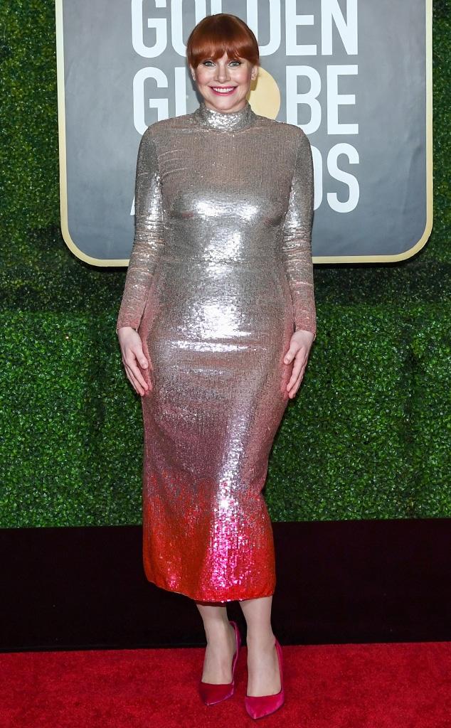 Bryce Dallas Howard, 2021 Golden Globe Awards, Arrivals, Red Carpet Fashion
