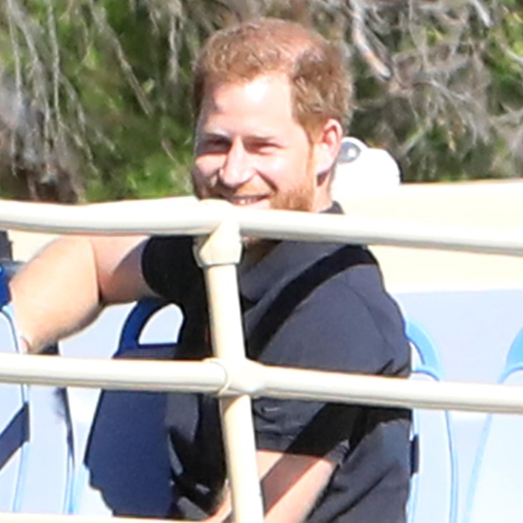 Prince Harry Makes Rare Public Appearance Filming With James Corden in Los Angeles