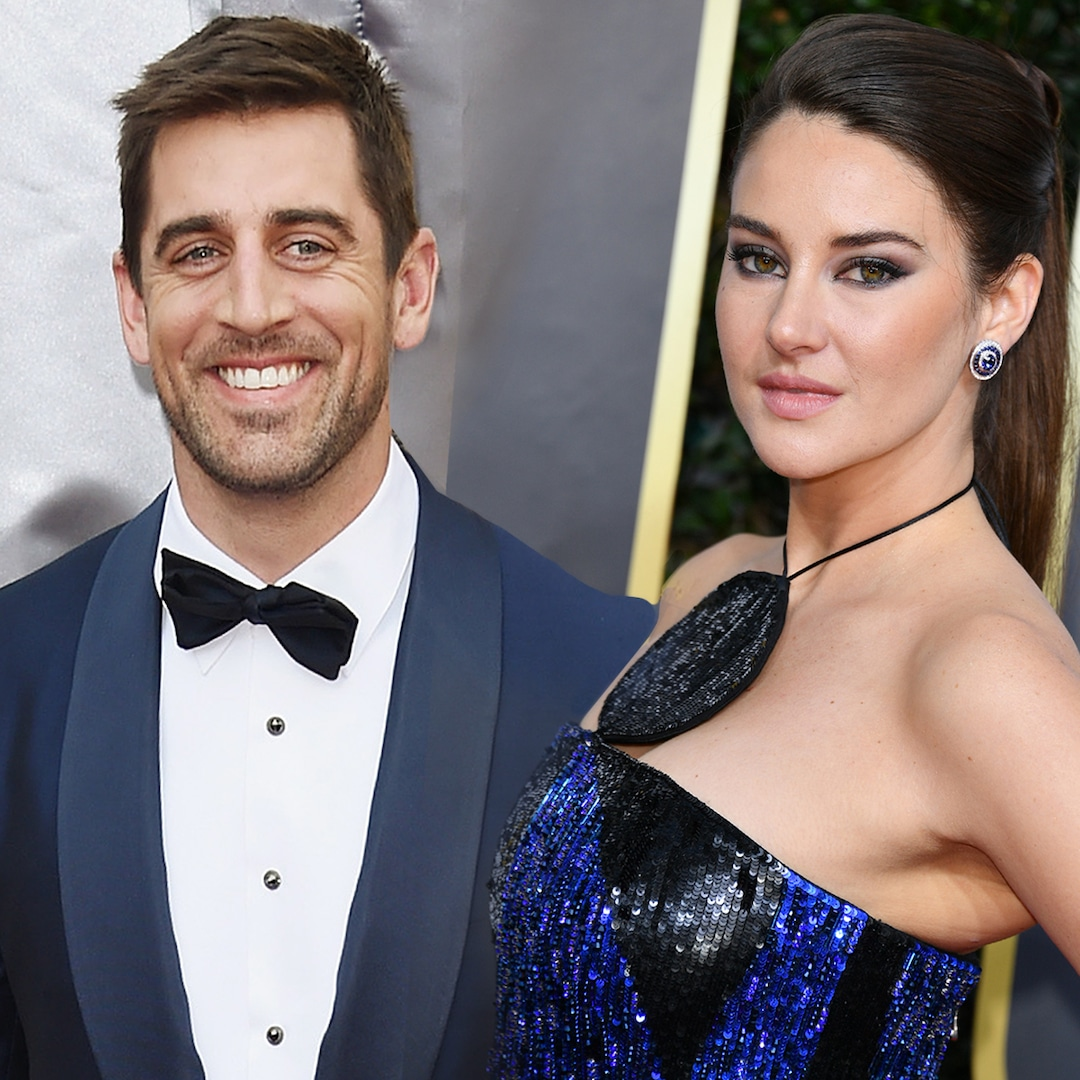 Newly Engaged Shailene Woodley and Aaron Rodgers Celebrate Valentine's Day in Montreal - E! NEWS