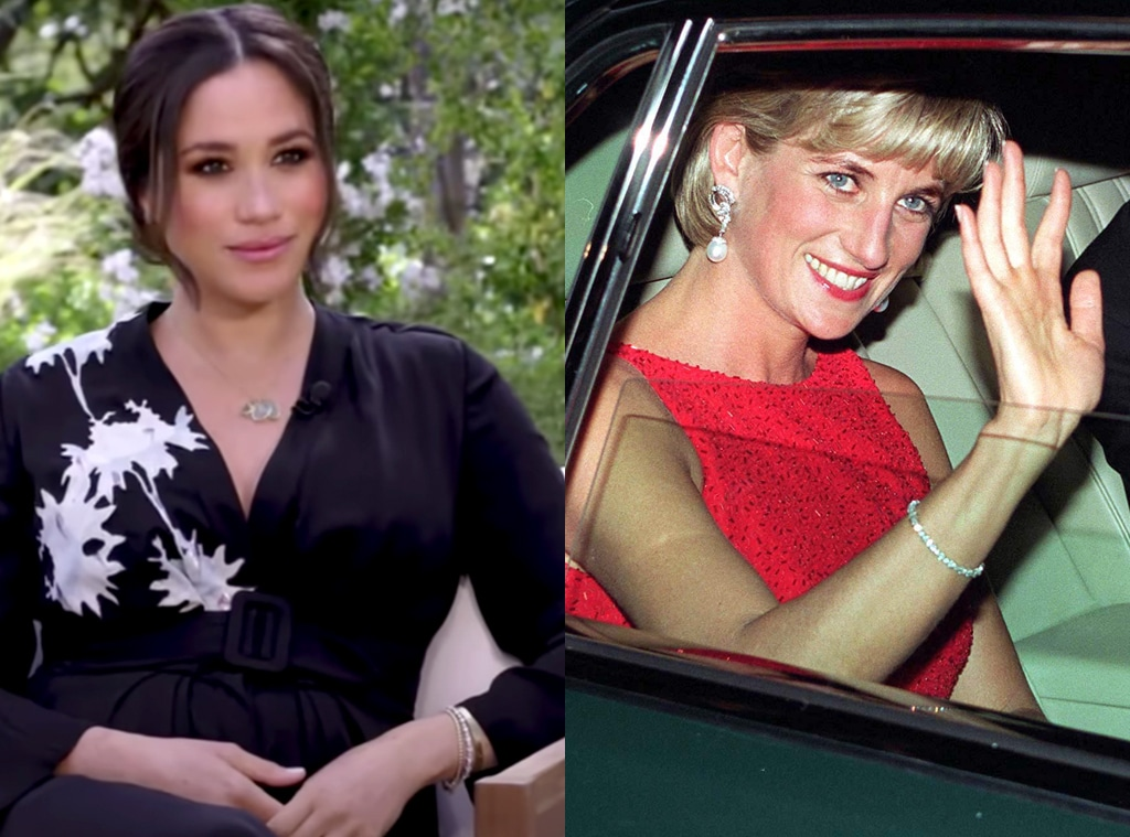 Meghan Markle, Princess Diana