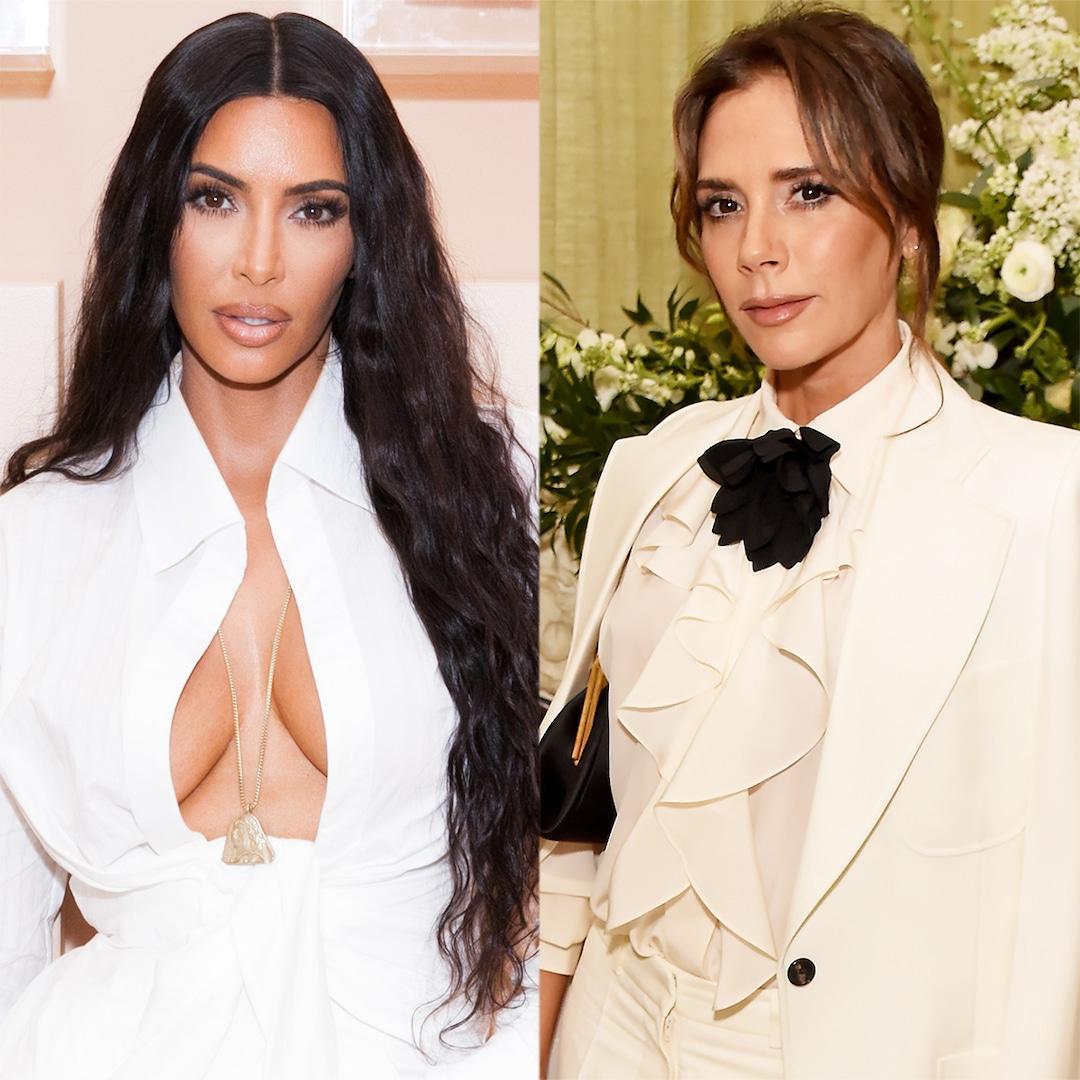 See Victoria Beckham's Reaction to Kim Kardashian's Posh Spice Outfit
