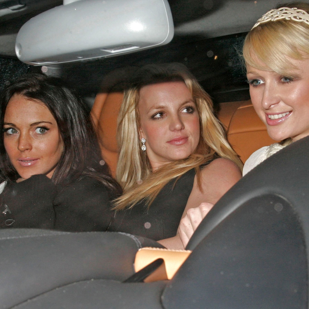Paris Hilton Reflects on That Iconic Car Photo With Britney Spears and Lindsay Lohan - E! NEWS