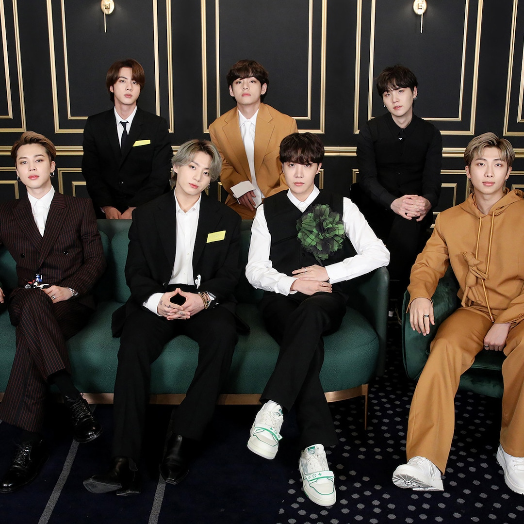 BTS Put On a Show-Stopping Performance At the 2021 Grammys ...