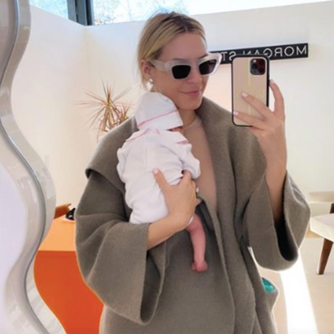 Rs 1200x1200 210302101358 ms6 New Mom Morgan Stewart Rocks a Tiny Bikini 8220 Six Weeks Postpartum 8221 8211 E NEWS
