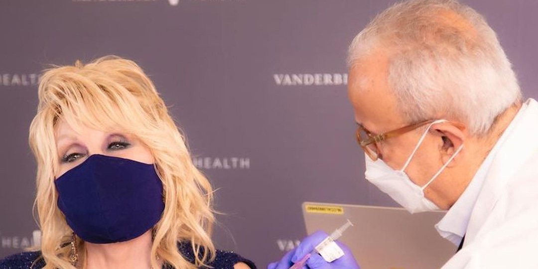 "Dolly Parton Gets a ""Dose of Her Own Medicine"" With COVID-19 Vaccine - E! Online.jpg"
