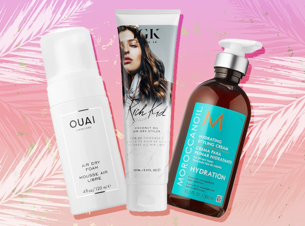 EComm, Best Air Dry Hair Products