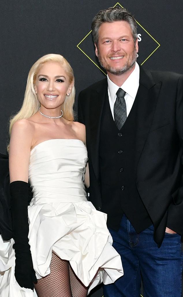 Gwen Stefani, Blake Shelton, 2019 E! Peoples Choice Awards