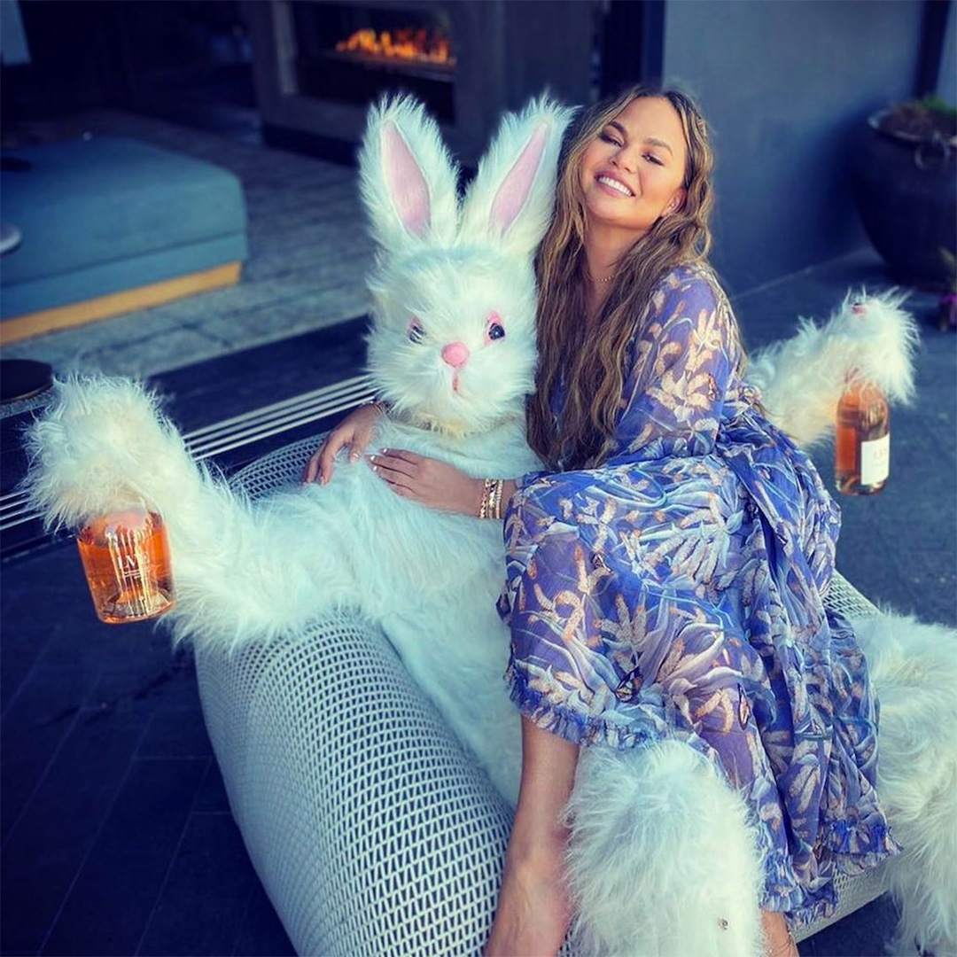 John Legend and Luna Have an Adorable Easter Bunny Father-Daughter Dance