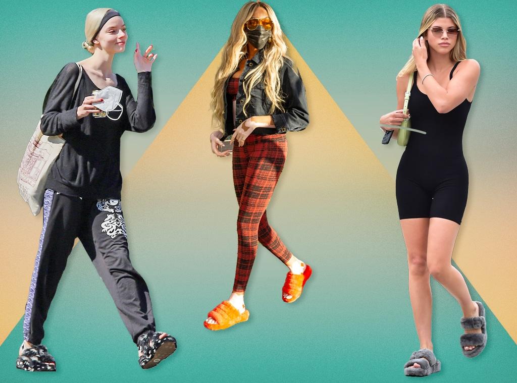 E-Comm: Celebrity Uggs Sandals, Anya Taylor-Joy, Winnie Harlow, Sofia Richie