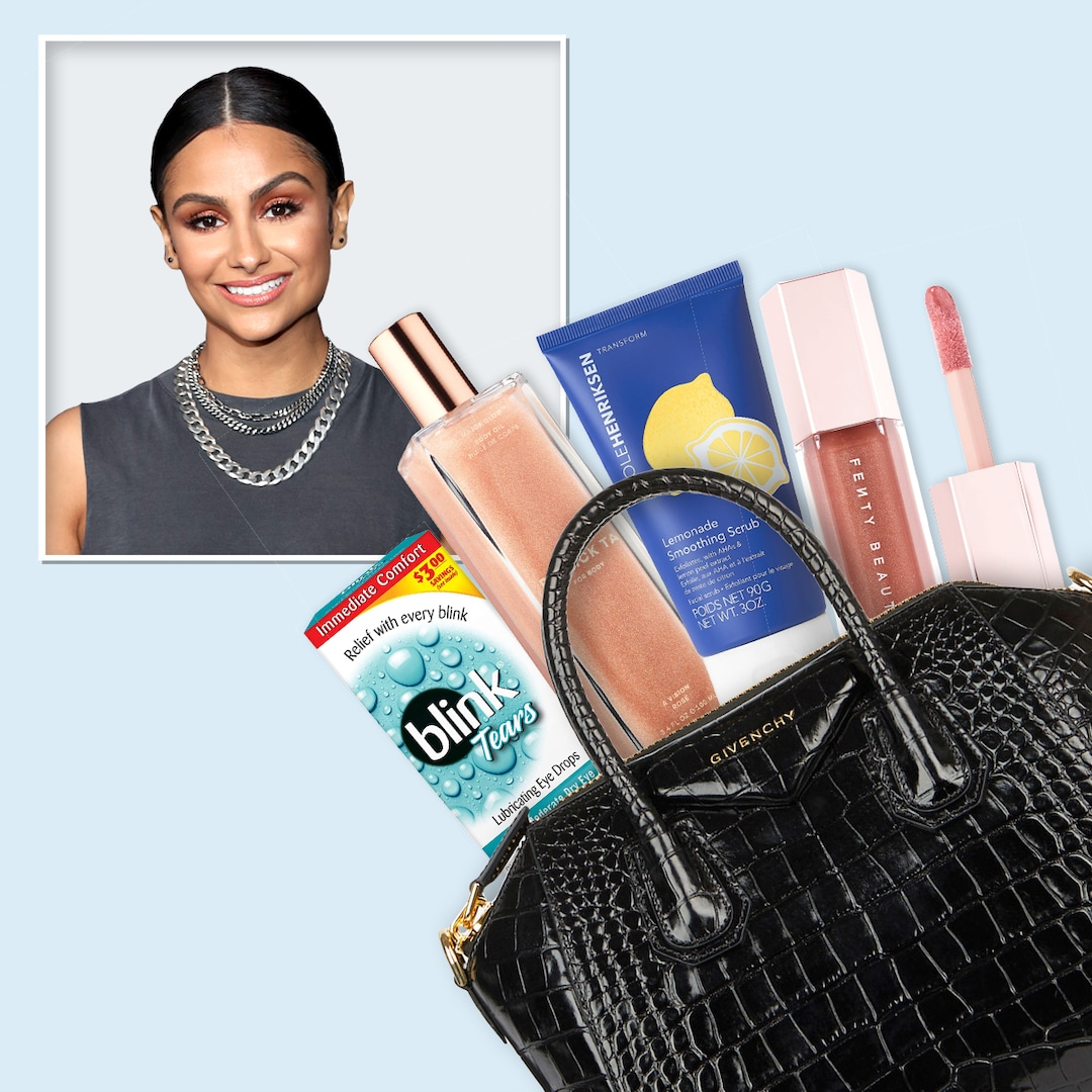 Nazanin Mandi Reveals What's in Her Bag