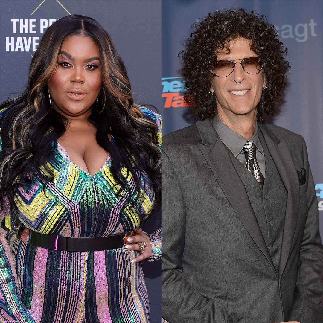 Howard Stern Teases E!'s Nina Parker After Her Awards Coverage Forces Him to Learn a New Word