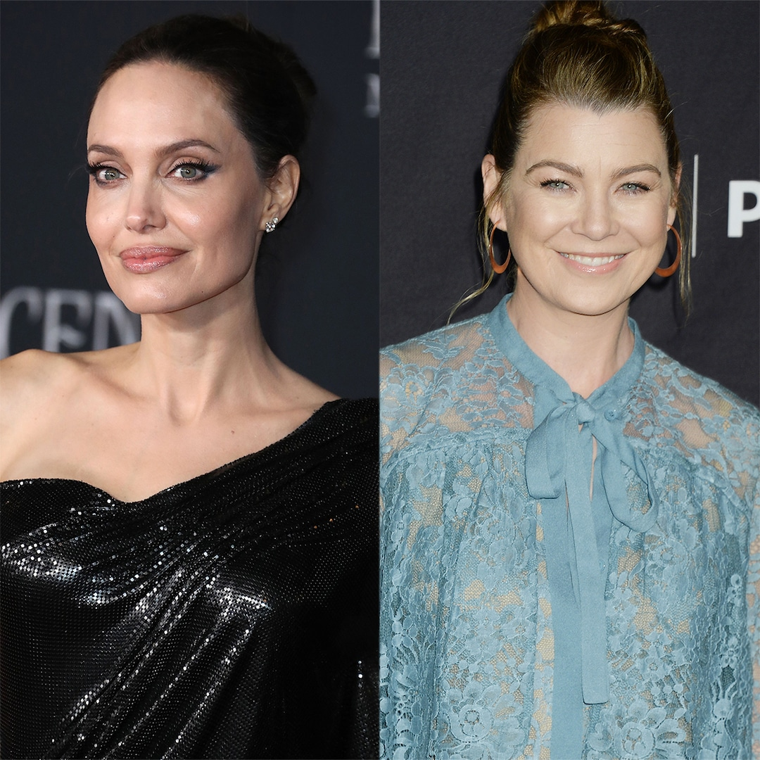 Angelina Jolie and Ellen Pompeo Are the Surprise Celeb BFFs We Never Knew We Needed