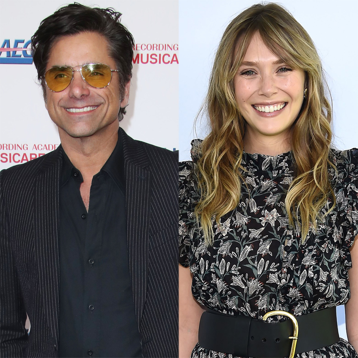John Stamos Shares Unseen Full House Photo With Elizabeth Olsen Ahead of WandaVision Finale