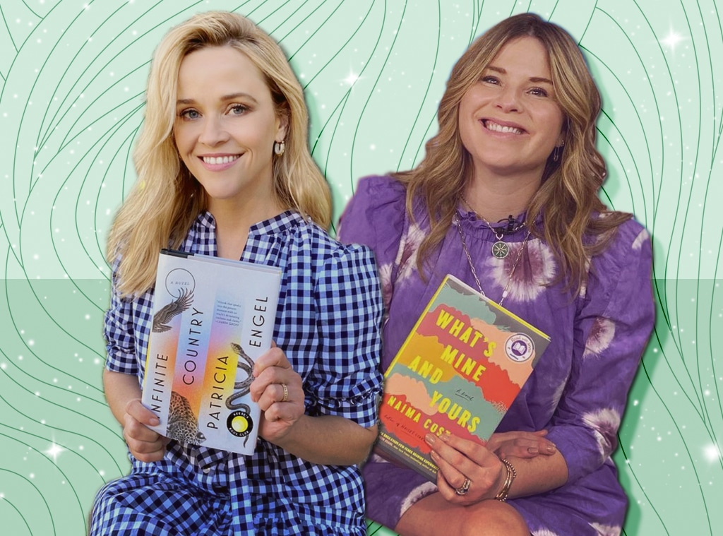 E-Comm: March 2021 Celeb Book Club Picks, Reese Witherspoon, Jenna Bush Hager
