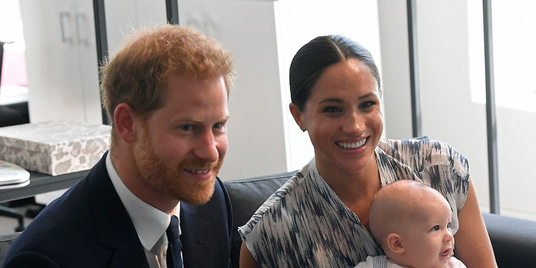 Meghan Markle and Prince Harry's Son Archie Makes Adorable Cameo During Oprah Winfrey Tell-All - E! Online.jpg