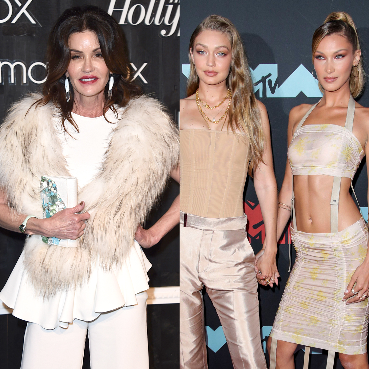 "Janice Dickinson Says Bella and Gigi Hadid Are ""Never On the Level"" of Original Supermodels"